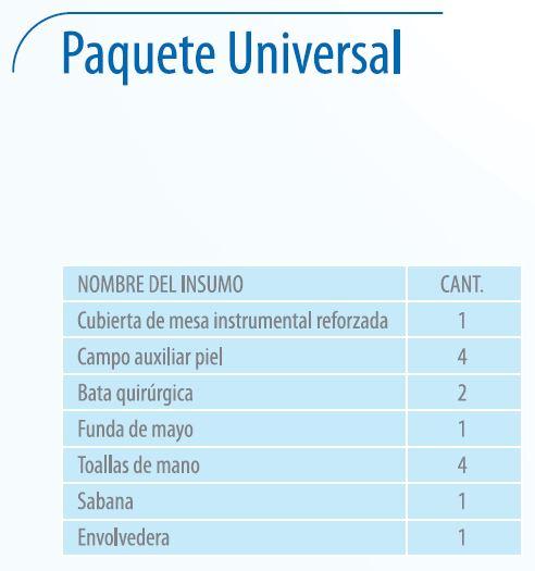 Paquete Universal