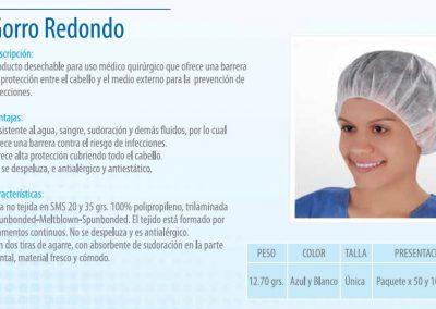 Gorro Redondo